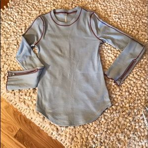 Free People Zip It Cuff Thermal.